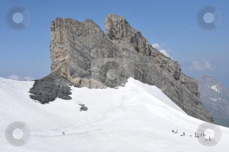 Snowtubing at Mount Titlis stock photo, Snowtubing at Mount Titlis in Switzerland   by Ritu Jethani