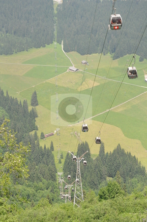 Cable Cars at Mount Titlis stock photo, Cable Cars at Mount Titlis, Switzerland by Ritu Jethani