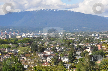 View of Vancouver stock photo, View of Vancouver in Canada by Ritu Jethani