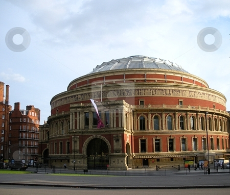 Prince Albert Hall stock photo, Also called The Royal Albert Hall, London, England by Cora Reed