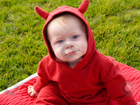 Little Devil stock photo, Little Devil by Cora Reed