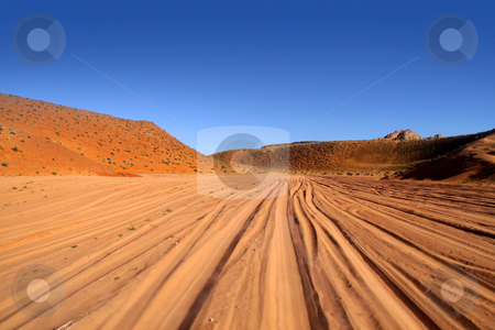 Desert drive stock photo, Desert drive near antelope canyon in Arizona by Sreedhar Yedlapati