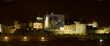 The tower of London stock photo, The Tower of London at night by MWilkinson Photography