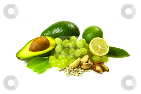 Fruit and Vegetables stock photo, Fruit and vegatables, very healthy eating diet by instinia