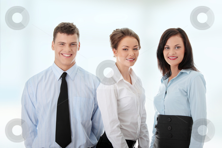Business team stock photo, Business team  by Piotr_Marcinski