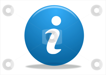 Info symbol icon stock photo, info symbol icon design - blue series by Stelian Ion