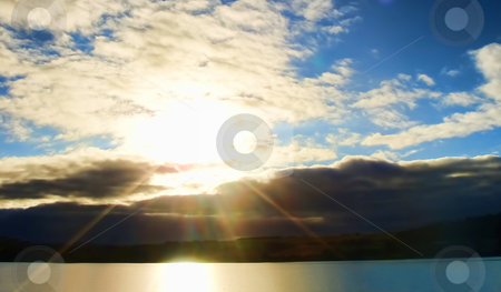 Sunrise stock photo, Sunrise and Cloudscape by Stelian Ion