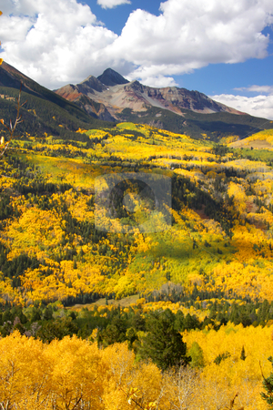 Scenic San Juan mountains stock photo, Colorful landscape of San Juan mountains in autumn by Sreedhar Yedlapati