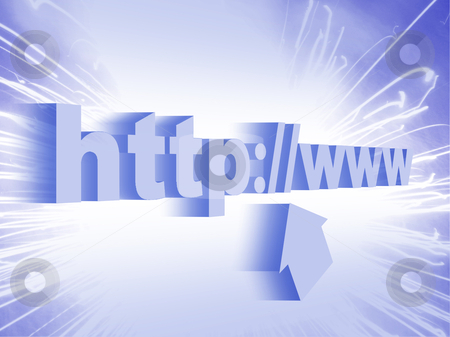 -Web address-WWW stock photo, World Wide Web: Internet and technology concept. by Rajar Reddi
