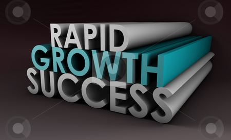 Rapid Growth stock photo, Rapid Growth and Success in a Business Company by Kheng Ho Toh
