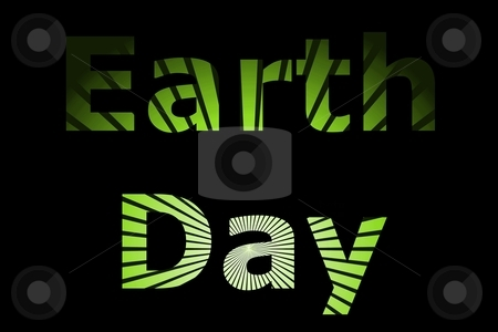 Earth Day stock photo, A early event Earth Day for nature and going green. by Henrik Lehnerer
