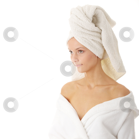 Relax concept stock photo, Relax concept:  beautiful nude woman with soft skin in bathtube by Piotr_Marcinski