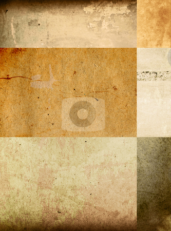 Grunge background  stock photo, background in grunge style  containing different textures  by ilolab
