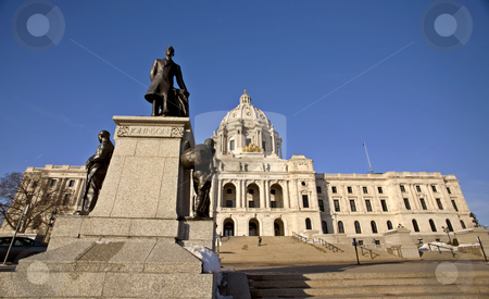 Capitol Building St Paul Minnesota stock photo, Capitol Building St Paul Minnesota by Mark Duffy