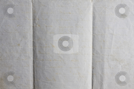 Old lined paper from note book  stock photo, old lined paper from note book  by Ingvar Bjork