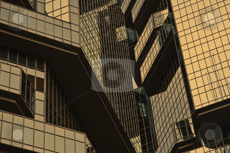 Skyscraper windows background in Hong Kong  stock photo, skyscraper windows background in Hong Kong   by Ingvar Bjork