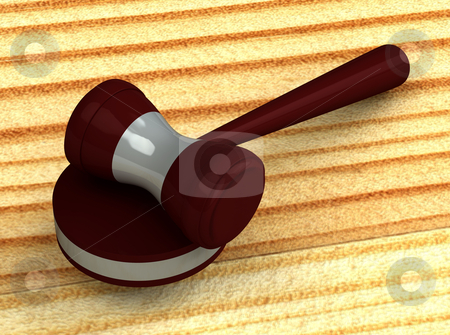 3d judge gavel isolated on white background stock photo, 3d judge gavel isolated on white background by vetdoctor
