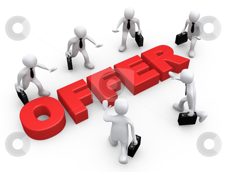 Business Offer stock photo, Computer Generated Image - Business Offer . by Konstantinos Kokkinis