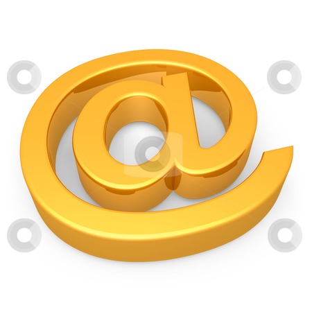 Email Symbol stock photo, Computer Generated Image - Email Symbol . by Konstantinos Kokkinis