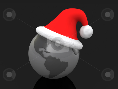 Christmas Around The World stock photo, Computer Generated Image - Christmas Around The World . by Konstantinos Kokkinis
