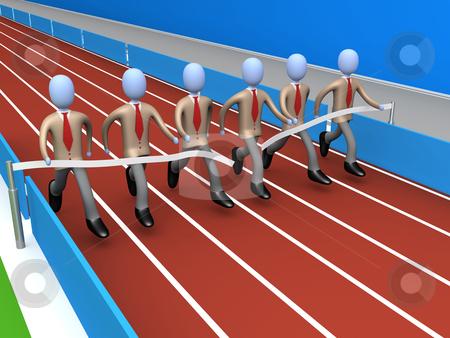Team Success stock photo, Metaphor of how teamwork brings success . by Konstantinos Kokkinis