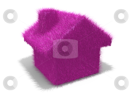 Trendy Home stock photo, Computer generated image - Trendy Home . by Konstantinos Kokkinis
