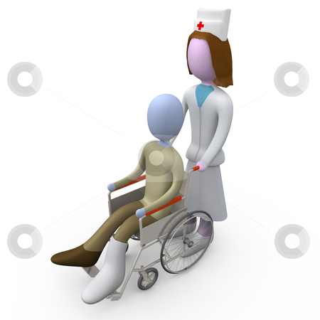 Healthcare stock photo, Computer generated 3d image - Healthcare . by Konstantinos Kokkinis