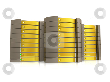 Web Hosting stock photo, Computer generated image - Web Hosting . by Konstantinos Kokkinis