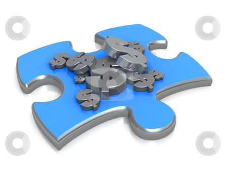 Cash Flow Solution stock photo, Computer Generated Image - Cash Flow Solution . by Konstantinos Kokkinis