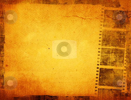 Great film strip stock photo, Great film strip for textures and backgrounds frame  by ilolab