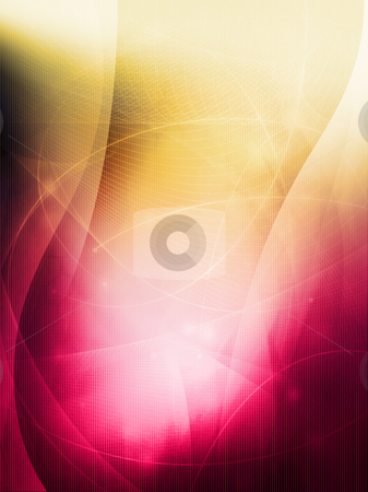 Abstract Cool waves stock photo, Streams of light abstract Cool waves background by ilolab