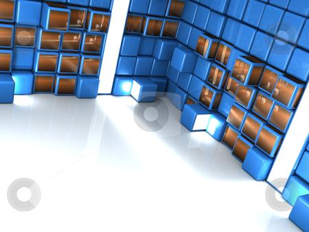 Interior Design stock photo, Computer generated image - Interior Design. by Konstantinos Kokkinis