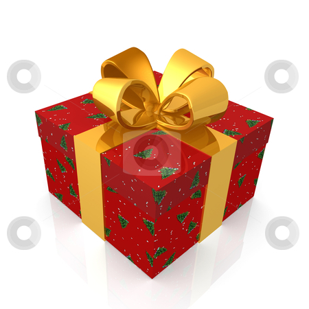 Christmas Present stock photo, Computer generated image - Christmas Present . by Konstantinos Kokkinis
