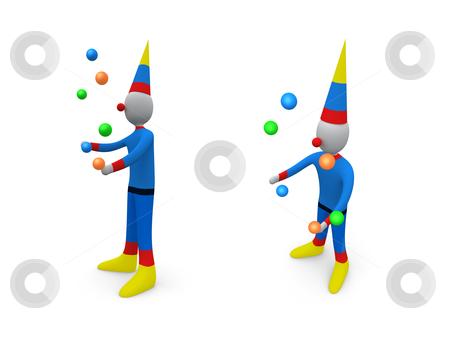 Holidays - Clown stock photo, Computer generated image - Holidays - Clown. by Konstantinos Kokkinis