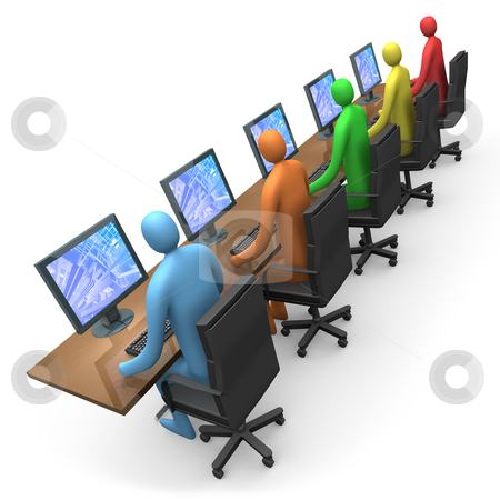 Business - Internet Access stock photo, Business - Internet Access. by Konstantinos Kokkinis