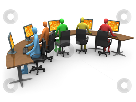 Business - Internet Access stock photo, Computer generated image. - Business - Internet Access. by Konstantinos Kokkinis