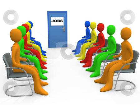 Job Application stock photo, Computer generated image - Business - Job Application. by Konstantinos Kokkinis