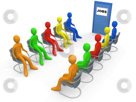 Business - Job Application stock photo, Computer generated image - Business - Job Application. by Konstantinos Kokkinis