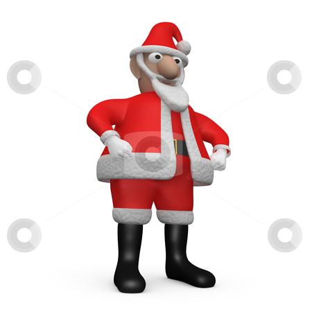 Santa Claus stock photo, Computer generated image - Santa Claus. by Konstantinos Kokkinis
