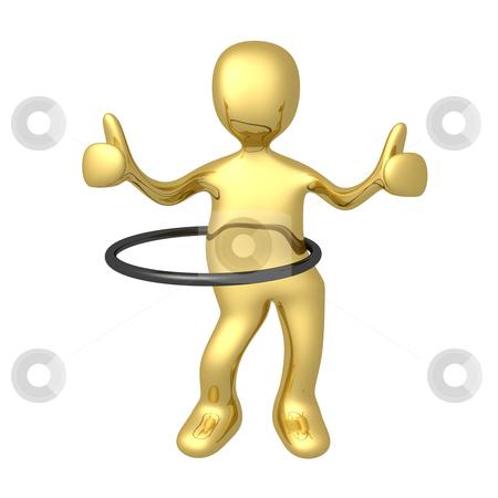 Hoop Dancing stock photo, Computer generated image - Hoop Dancing . by Konstantinos Kokkinis