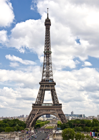 France Eiffel Tower Picture on Eiffel Tower Paris  France Stock Photo  Famous And Beautiful Eiffel