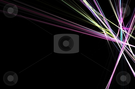 Dynamic background stock photo, dynamic and futuristic abstract fractal background with copy space by Gunnar Pippel