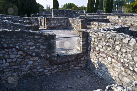 Aquincum stock photo, roman ruins in Budapest, called Aquincum in roman times by Juliane Jacobs