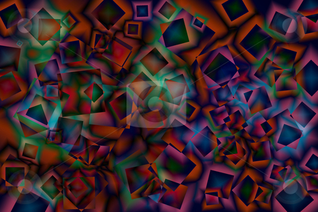 Colorful abstract background stock photo, Colorful abstract background by Ingvar Bjork
