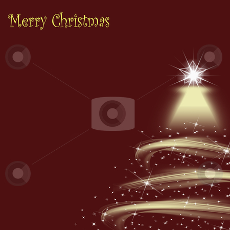 Beautiful abstract background of Christmas lights stock photo, Beautiful abstract background of Christmas lights  by Ingvar Bjork