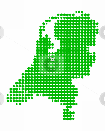 Map of the Netherlands stock photo, Map of the Netherlands by Robert Biedermann
