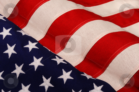 Old Glory. stock photo, American flag. by WScott