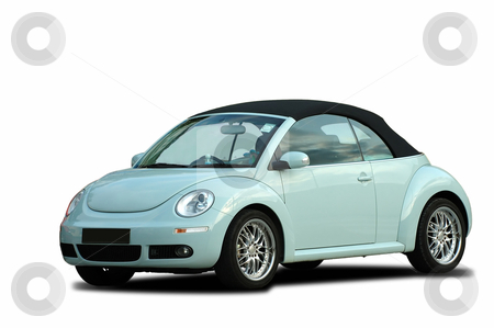 A Beetle Car A modern beetle car