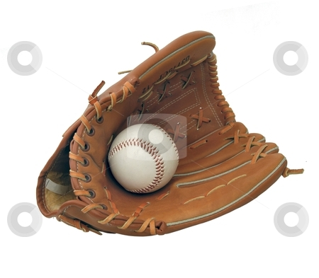 Baseball set stock photo, Baseball set isolated by Albo