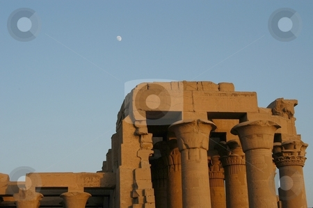 Egyptian temple stock photo, Egyptian temple, Egypt, Africas by Albo